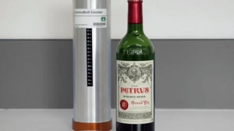 Бутылку вина из космоса продадут за миллион долларов