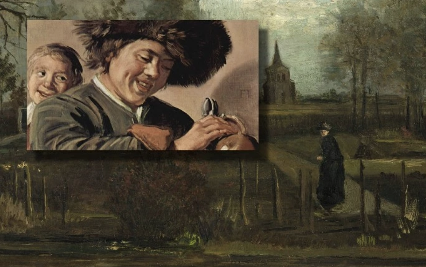 Работы Франса Халса и Винсента ван Гога были украдены