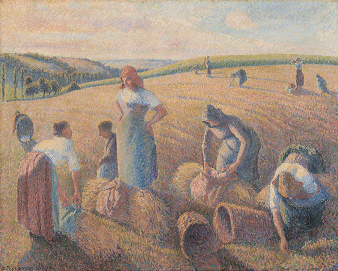 Les Glaneuses Писсарро (1889)