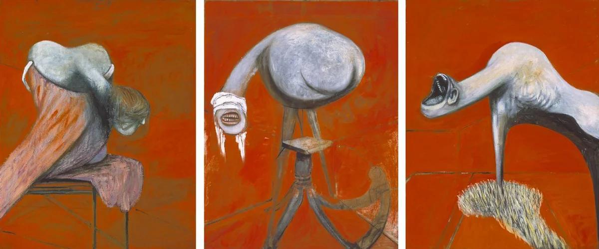 Триптих «Три этюда к фигурам у подножия распятия» Фрэнсиса Бэкона
